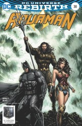 DC - Aquaman # 30 Justice League Movie Variant