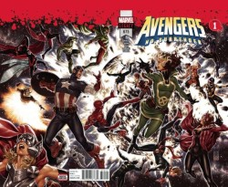 Marvel - Avengers # 675 (No Surrender) 3D Kapak