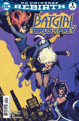 Batgirl And The Birds Of Prey #1 Variant