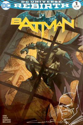 Batman # 1 Paralel Evren Retailer Variant Yıldıray Çınar Sketchli 99 Limitli Sertifikalı