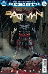 DC - Batman # 22 (The Button) Lenticular 3D Cover