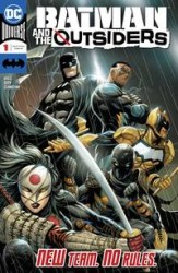 DC - Batman And The Outsiders # 1