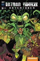 IDW - Batman Teenage Mutant Ninja Turtles Adventures # 3