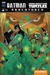 IDW - Batman Teenage Mutant Ninja Turtles Adventures # 4