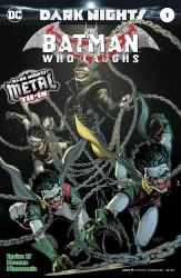 DC - Batman Who Laughs # 1 (Metal)