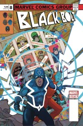 Marvel - Black Bolt # 8 Ward Lenticular Homage Variant