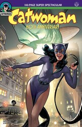 DC - Catwoman 80th Anniversary 100 Page Super Spectacular # 1 1940s Adam Hudges Variant