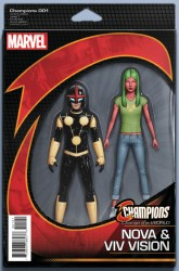 Marvel - Champions # 1 Action Figure Variant
