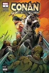 Marmara Çizgi - Conan The Barbarian Sayı 3