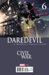 - Daredevil # 6 Civil War Variant