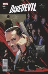 Marvel - Daredevil # 600 Agents of S.H.I.E.L.D. Varianr