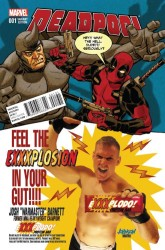 Marvel - Deadpool #1 Variant