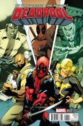 Marvel - Deadpool #13 Stevens Power Man and Iron Fist Variant