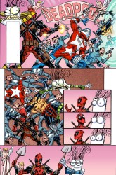 Marvel - Deadpool #15 Secret Comic Variant