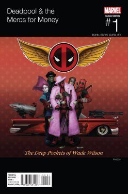 Deadpool & The Mercs For Money # 1 Rahzzah Hip Hop Variant