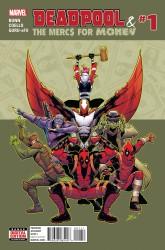 Marvel - Deadpool & The Mercs For Money #1