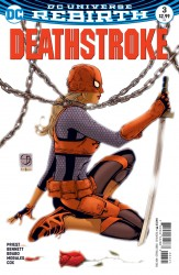 DC - Deathstroke # 3 Variant