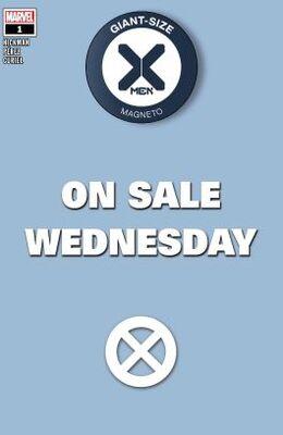 Giant Size X-Men Magneto # 1 Wednesday Variant