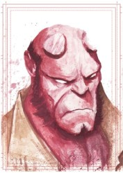 Diğer - Görkem Demir Limited Edition Holo Sketch Card #11 Hellboy