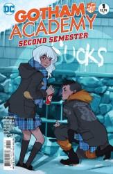 DC - Gotham Academy Second Semester # 1