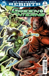 DC - Green Lanterns # 5