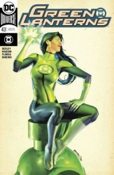 DC - Green Lanterns # 43 Variant