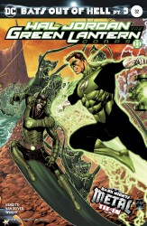 DC - Hal Jordan And The Green Lantern Corps # 32 (Metal)