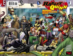 DC - Harley Quinn Invades Comic - Con International San Diego # 1