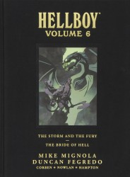 Dark Horse - Hellboy Library Edition Vol 6 The Storm and The Fury and The Bride of Hell HC