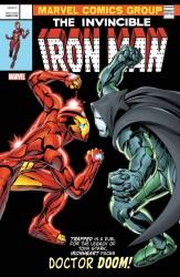 Marvel - Invincible Iron Man # 593 (2017) Davis Lenticular Homage Variant