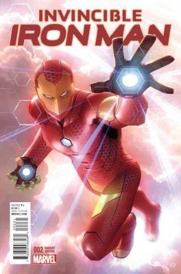 Invincible Iron Man # 2 (2015) Garner Variant