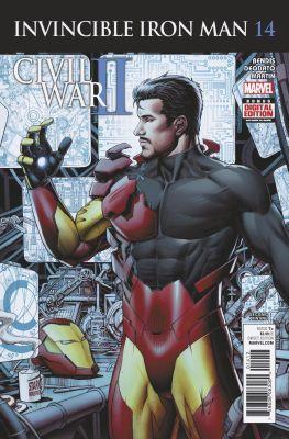 Invincible Iron Man # 14 (2015) 2nd PTG