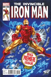 Marvel - Invincible Iron Man #1(2015) Timm Classic Variant