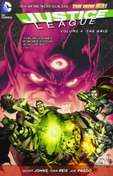 DC - Justice League (New 52) Vol 4 The Grid TPB