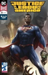 DC - Justice League Of America # 28 Mattina Variant