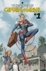 Marvel - Life of Captain Marvel # 1