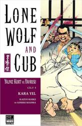 Marmara Çizgi - Lone Wolf And Cub - Yalnız Kurt Ve Yavrusu Cilt 5 Kara Yel