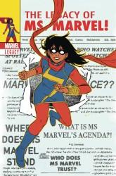 Marvel - Ms Marvel # 25 Wyatt Lenticular Variant