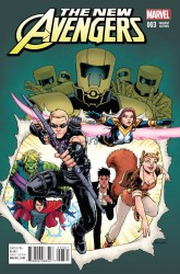 Marvel - New Avengers # 3 Burnham Variant