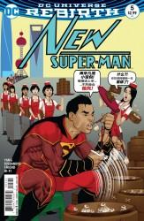 DC - New Super-Man # 5 Variant