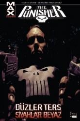 Marmara Çizgi - Punisher Max Cilt 4 Düzler Ters Siyahlar Beyaz