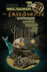 Vertigo - Sandman Vol 3 Dream Country 30th Anniversary Edition TPB