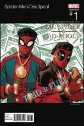 Marvel - Spider-Man/Deadpool #1 Hip Hop Variant