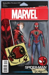 Marvel - Spider-Man/Deadpool # 1 Christopher Action Figure Variant