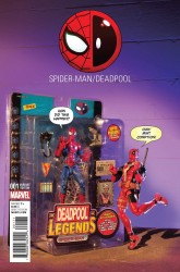 Marvel - Spider-Man/Deadpool #1 Action Figure Photo Variant
