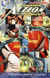 DC - Superman Action Comics (New 52) Vol 3 At The End Of Days TPB