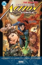 DC - Superman Action Comics (Yeni 52) Cilt 4 Melez
