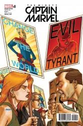 Marvel - Mighty Captain Marvel #0 NOW Johnson Variant