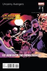 Marvel - Uncanny Avengers #1 Pearson Hip Hop Variant