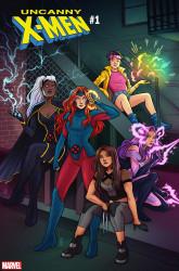 Marvel - Uncanny X-Men (2018) # 1 1:25 Bartel Variant